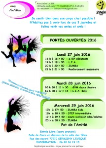 FEEL NESS PORTES OUVERTES 2016